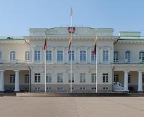 Pałac prezydencki w Wilnie- fasada