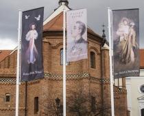 Maszty Flagowe Kościół - Łask.jpg