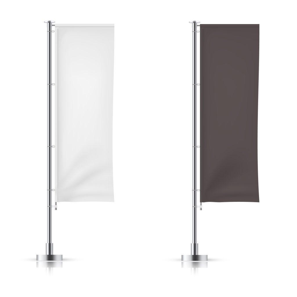 Maszty flagowe z włókna szklanego z windtrackrem