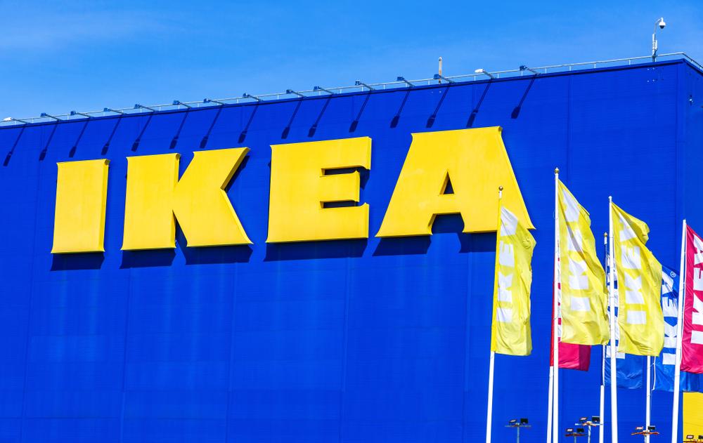 Maszty flagowe reklamowe w Ikea