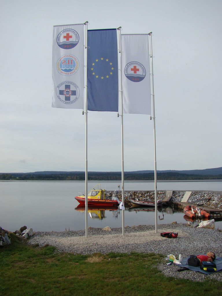 Maszty flagowe VZS – Dolní Vltavice, Czechy