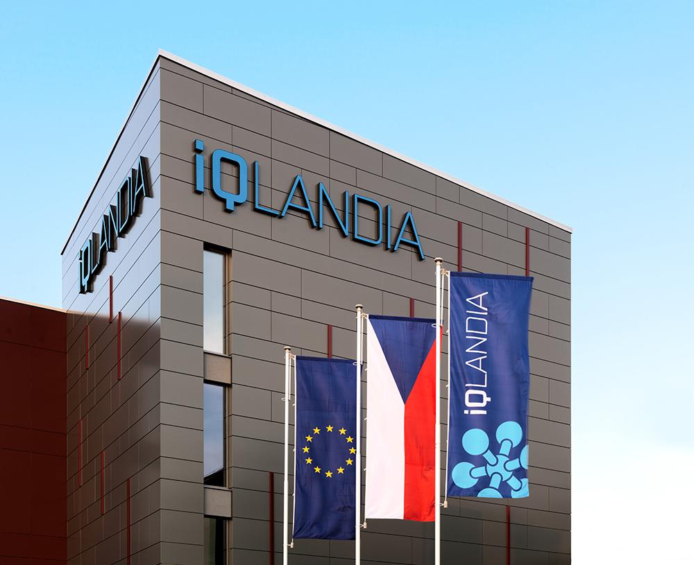 Maszty flagowe Park nauki iQ Landia – Liberec, Czechy