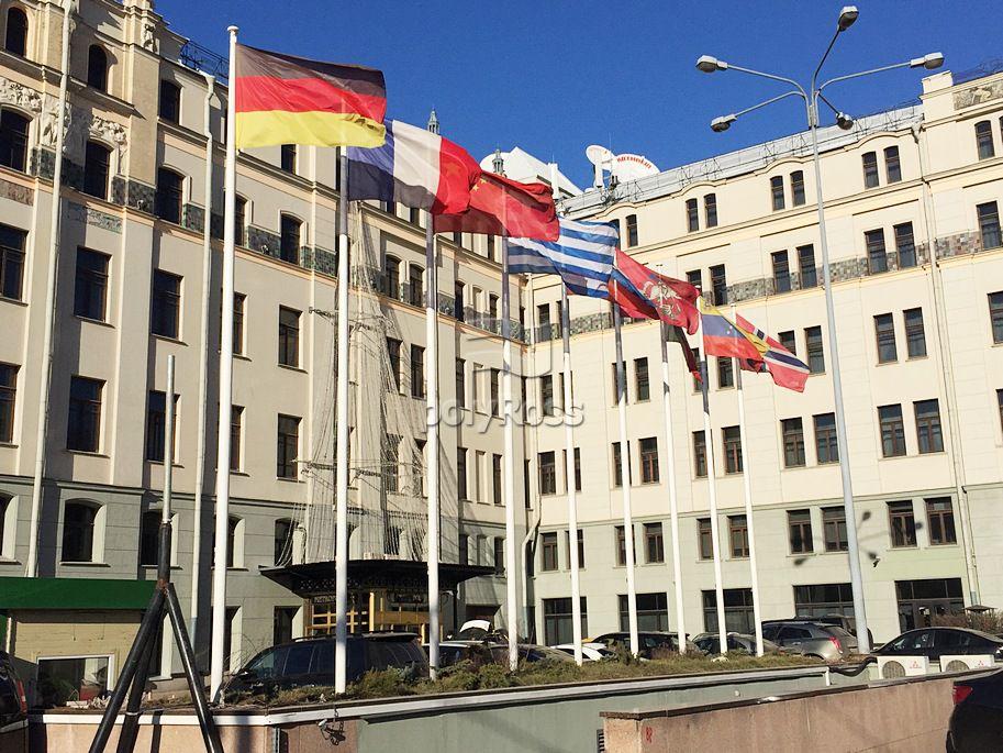 Maszty flagowe Hotel Metropol – Moskwa, Rosja