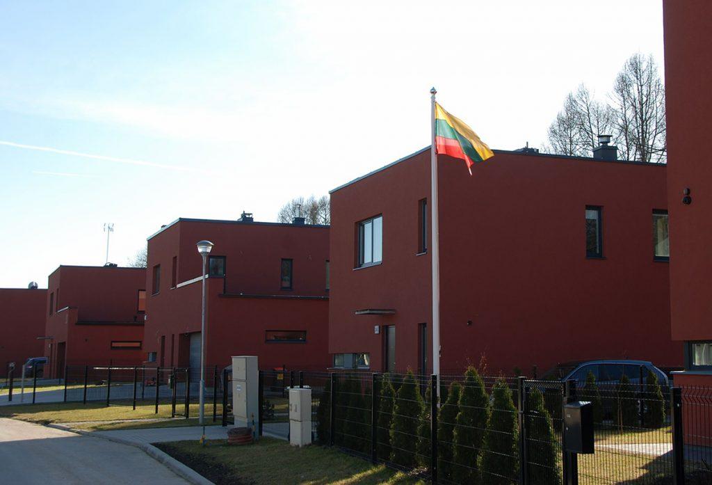 Maszty flagowe – Wilno, Litwa