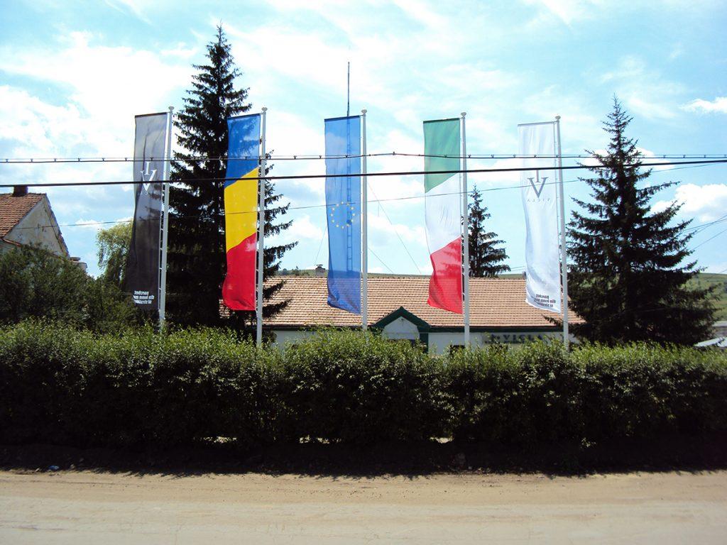 Maszty flagowe - Rumunia