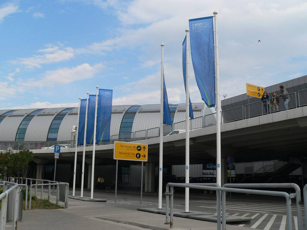 Maszty flagowe FIFA Congress - Węgry