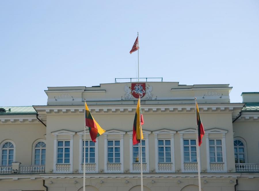 Maszty flagowe Pałac Prezydencki – Wilno, Litwa