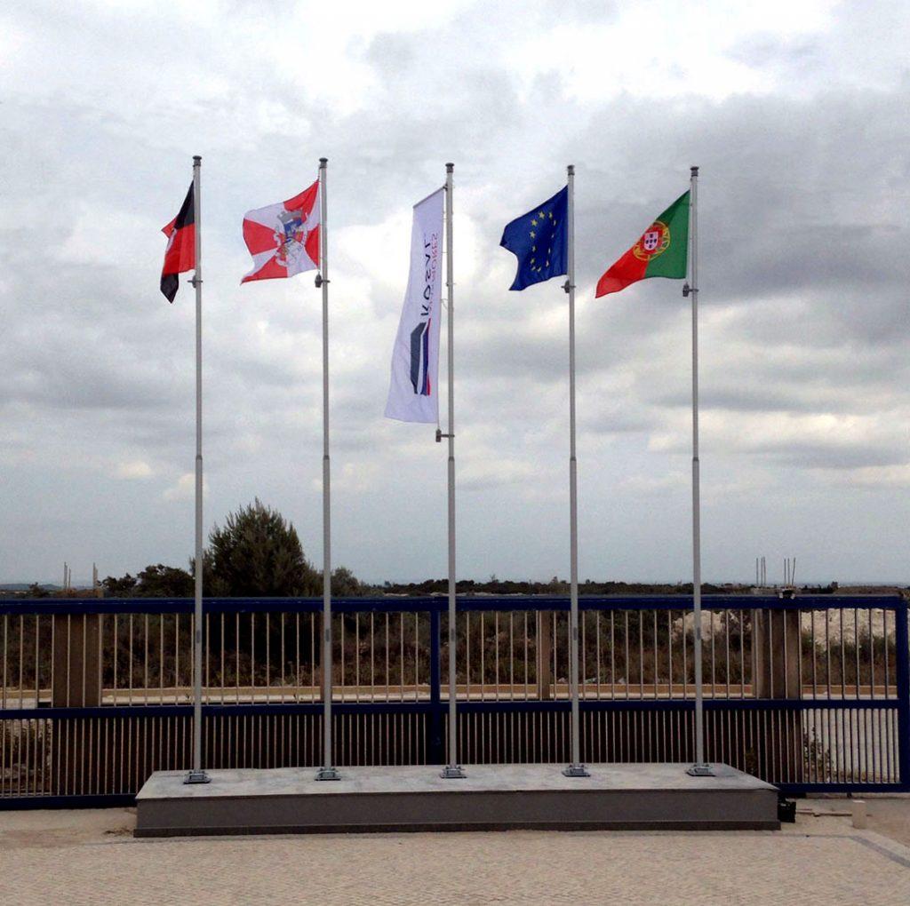 Maszty flagowe - Portugalia