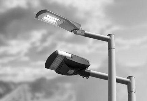 słupy oświetleniowe uliczne