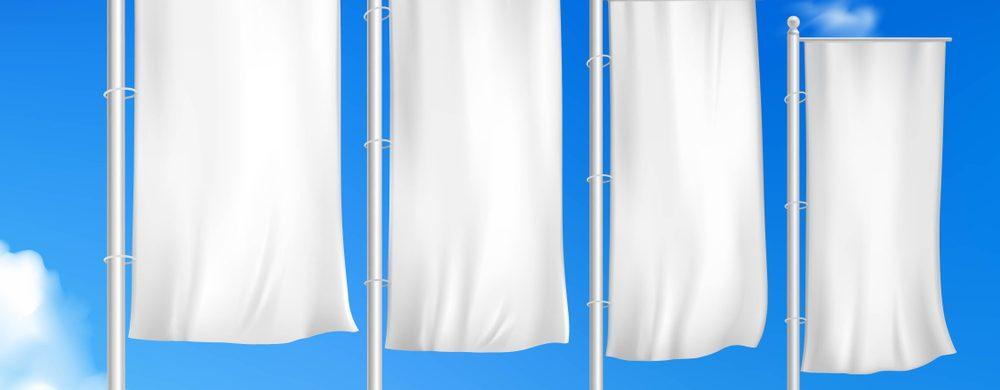 Maszty flagowe z zamkiem i windtrackerem - Agra