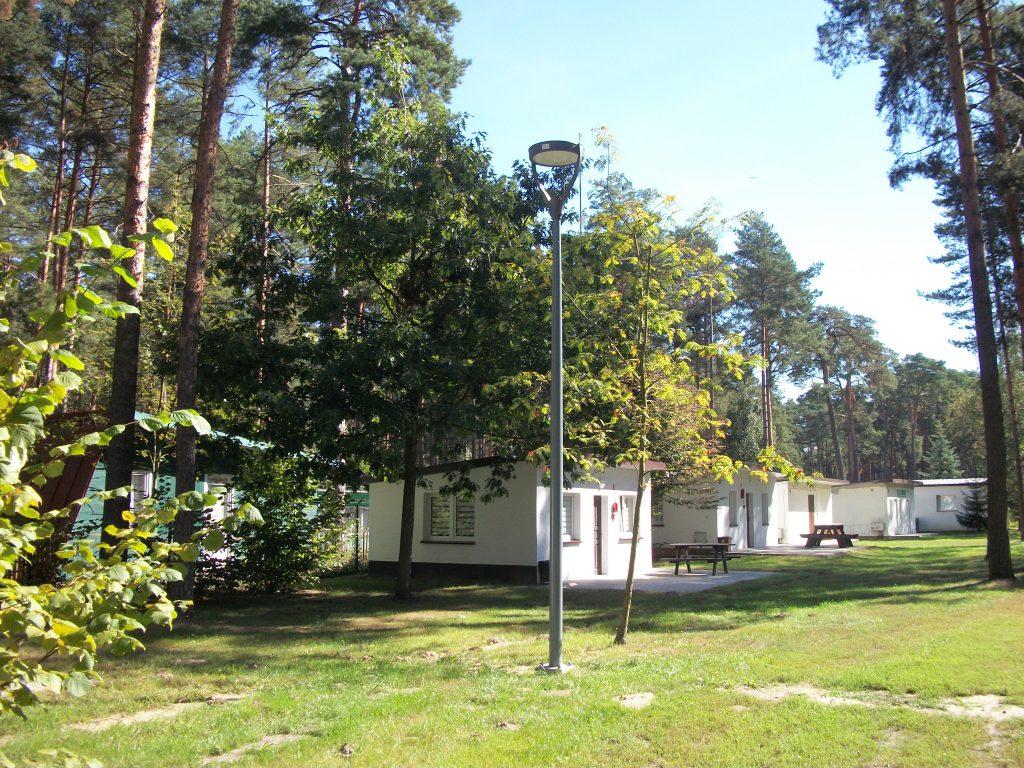 Słupy oświetleniowe parkowe OSSW - Sulejów, Polska