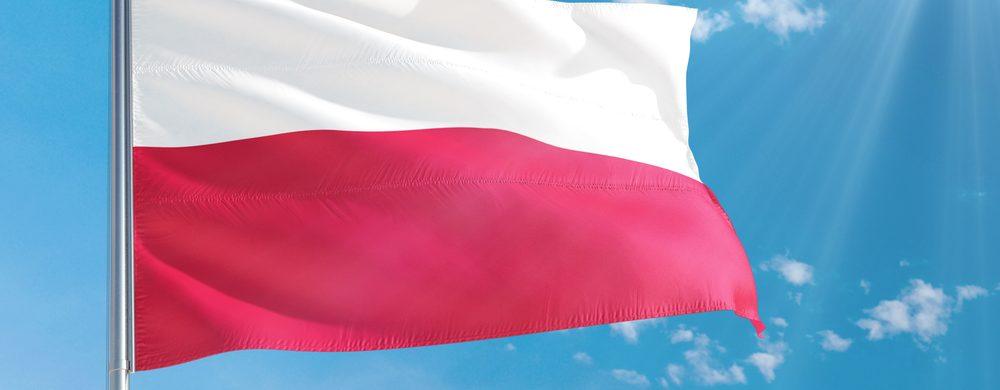 Flaga narodowa Polski - Agra